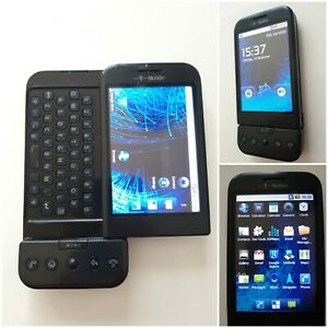 HTC Dream G1 - Black (T-Mobile) .World's first Android Smartphone 2008