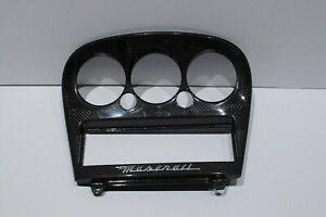 2001-2005 MASERATI GRANSPORT GT 4.2L V8 CARBON FIBER TRIM BAZEL DASH CLIMAT CONT