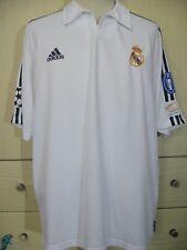 REAL MADRID CENTENARY 2001 ADIDAS FOOTBALL SOCCER JERSEY SHIRT XL VTG CAMISETA