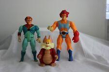 Lion O Tygra & Snarf Original Thundercats Action Figures 1980s