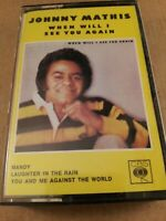Johnny Mathis : When Will I See You Again : Cassette Tape Album from 1975