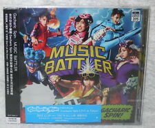 J-POP Gacharic Spin MUSIC BATTLER 2015 Taiwan Ltd CD+DVD