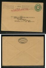Great Britain postal envelope to Mexico 1914 Ms1005