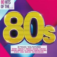 80 HITS OF THE 80S (2015) 80-track 4-CD New/SEALED New Order Spandau Ballet