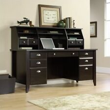 Sauder Shoal Hutch Wood Computer Home Writing Executive Office Desk Organizer