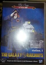 the galaxy railways anime dvd  in French with English subtitles