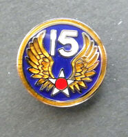 Fifteenth Air Force 15th AF USAF Lapel Pin Badge 3/4 inch