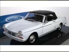 1:24 Model Peugeot 404 Cabriolet White Diecast Detailed Car Welly BNIB