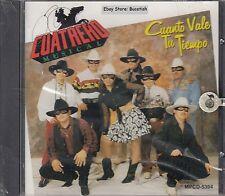 Cuatrero Musical Cuanto Vale Tu Tiempo CD Nuevo Sealed