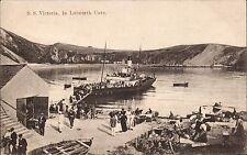 Lulworth. SS Victoria in Lulworth Cove # 127642 by Ed.H.Seward, Weymouth.