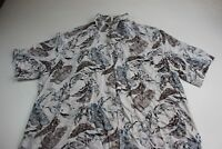 MINT Tasso Elba Island Floral Pocket Island Camp Shirt XL Extra Large