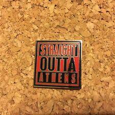 "Georgia Bulldogs Pin ""Straight Outta Athens"" Widespread Panic"