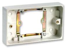 Pro elec unique à convertisseur double backbox prise murale surface box pattress