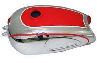 Horex Regina Chrome & Painted Petrol Gas Fuel Tank Reproduction GEc