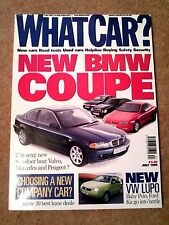 WHAT CAR? MAGAZINE JUL-1999 - BMW 328Ci E46, Peugeot 406 V6 Coupe, Mondeo ST200