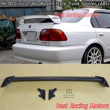 96-00 Honda Civic 2/4dr Mu-gen Style Trunk Spoiler Wing (ABS)