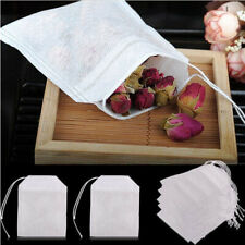 100-Pack Cotton Muslin Drawstring Reusable Bags Bath Soap Herbs Tea 5.5*7cm