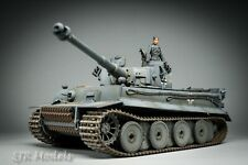 WW2 German Panzer Tiger 1 Early Model Tank Built & Painted 1:35th Scale