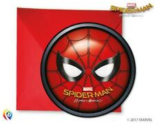 CLEARANCE Spiderman Homecoming Die Cut Party Invitations & Envelopes (6 Pack)