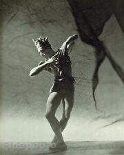 1944 BALLET Male Dance ANDRE EGLEVSKY Drama 13x10 Photo Art ~ GEORGE PLATT LYNES