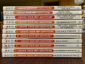 LOT 11 Choose Your Own Adventure Books CYOA Some vintage Series
