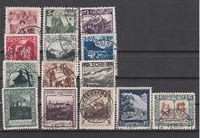 Liechtenstein Nr. 94-107, gestempelt (850 Michel)