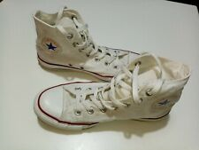 White Converse all star boot Size 6