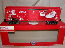 Lionel 6-82879 Coca Cola Santa Box Car O 027 New 2016 Coke Made U.S.A. Christmas