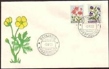 Island Flowers FDC cover (253)