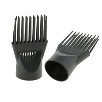 2pcs Hair Dryer Blower Concentrator Comb Nozzle, Hairdressing Styling Attachment