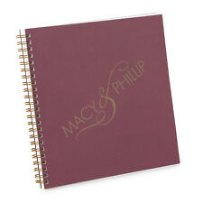 Personalized Ampersand Wedding Guest Book (55774P)