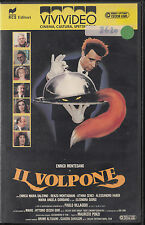 IL VOLPONE (1988) VHS