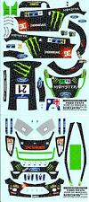 Colorado Decals 1/24 FORD FIESTA RS WRC #21 CHRIS ATKINSON MEXICO 2012