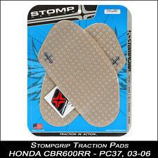 STOMPGRIP Traction Pads,HONDA CBR 600RR,03-06,PC37,transparent,Réservoir,