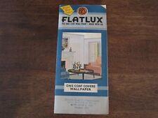 Retro 1950s Paint Samples Wallpaper BPS Flatlux One-Coat 12 Pastel Colors