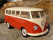 "RC Modell VW BUS T1 Classic mit LICHT Länge 26cm ""Ferngesteuert 27MHz""    400120"