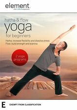 "Element: Hatha And Flow Yoga For Beginners DVD R4 ""sale"""
