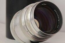 JUPITER-9 2/85mm KMZ Silver Soviet Lens M39
