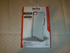 New Tech21 Evo Mesh Flexible Cover Case for iPhone 6 clear white