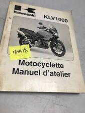 Kawasaki KLV1000 2004 A1 KLV 1000 revue technique manuel atelier moto LV1000-A1