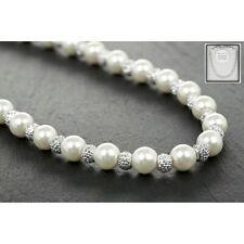 Pearl Mini Natural Shamballa Necklace