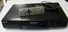 Panasonic S-VHS Videorecorder NV-SV121 - Schwarz - Super LP - VPS - PDC