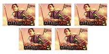 AEG L5R LEGEND OF THE FIVE RINGS : 5 X AFTERMATH BOOSTER TINS