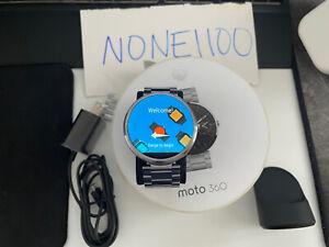 Motorola Moto 360 46mm (1st Generation) Stainless Steel Read Description