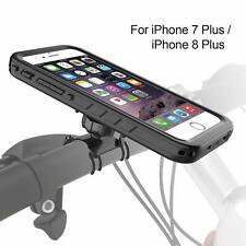 Bike Phone Mount Holder With Waterproof Protective Case For iPhone 8 Plus/7 Plus