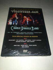CHARLIE DANIELS BAND Volunteer Jam DVD SEALED NEW 1975/2007 USA upc slash mark