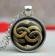 Collar serpientes auryn historia interminable neverending story picture pendant