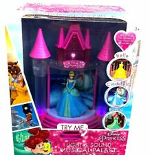 Disney 3 IN 1 Princess Light and Sound Musical Palace Colored Night Light