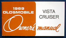 Owner's Manual Betriebsanleitung 1969 Oldsmobile Vista Cruiser (USA)