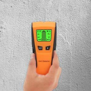 Wall Wood Stud Detector Finder Scanner Metal Live Wire Cable Pipe LCD 3 in 1